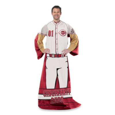 MLB Cincinnati Reds Uniform Comfy Throw