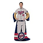 MLB Minnesota Twins Uniform Comfy Throw