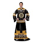 NHL Boston Bruins Uniform Comfy Throw