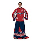 NHL Washington Capitals Uniform Comfy Throw