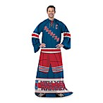 NHL New York Rangers Uniform Comfy Throw