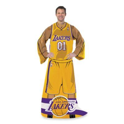 NBA Los Angeles Lakers Uniform Comfy Throw