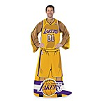 NBA Los Angeles Lakers Uniform Comfy Throw