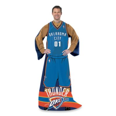 NBA Oklahoma City Thunder Uniform Comfy Throw