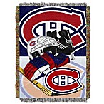 NHL Montreal Canadiens Tapestry Throw