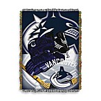 NHL Vancouver Canucks Tapestry Throw