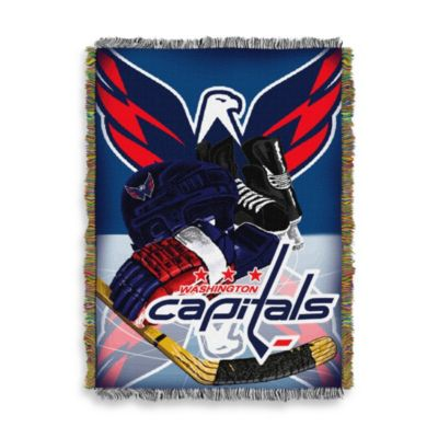 NHL Washington Capitals Tapestry Throw