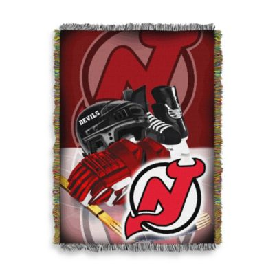 NHL New Jersey Devils Tapestry Throw