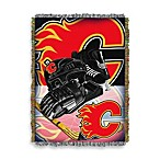NHL Calgary Flames Tapestry Throw