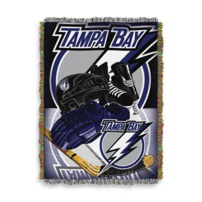 NHL Tampa Bay Lightning Tapestry Throw