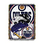 NHL Edmonton Oilers Tapestry Throw
