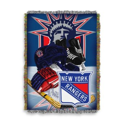 NHL New York Rangers Tapestry Throw