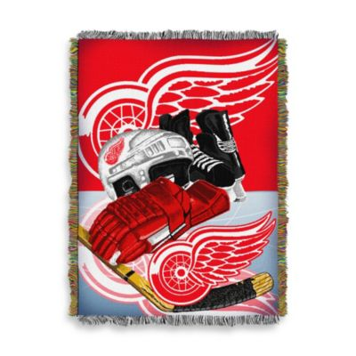 NHL Detroit Red Wings Tapestry Throw