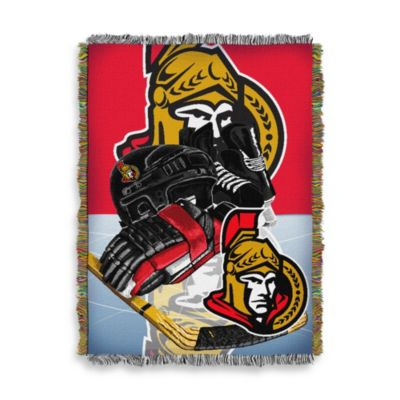 NHL Ottawa Senators Tapestry Throw