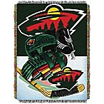 NHL Minnesota Wild Tapestry Throw