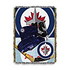 NHL Winnipeg Jets Tapestry Throw