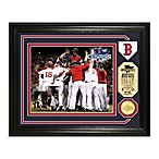 Boston Red Sox 2013 World Series Champions Bronze Coin Photo Mint Frame