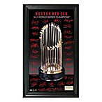 Boston Red Sox 2013 World Series Champions Trophy Signature Photo Frame