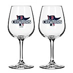 Boston Red Sox 2013 World Series Champions 12-Ounce Wine Glass