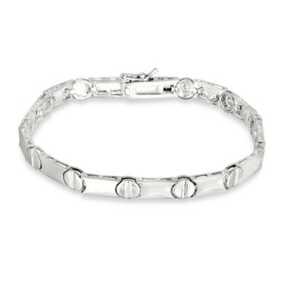 Sterling Silver Nail Head Bracelet