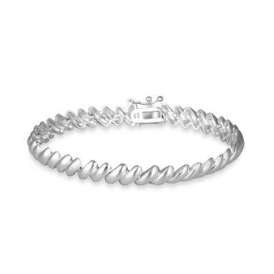 Sterling Silver San Marco Bracelet