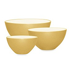 Noritake® Colorwave 3-Piece Mixing Bowl Set in Mustard