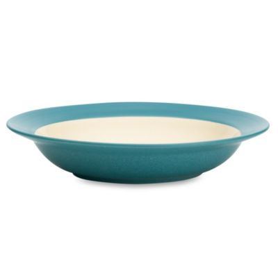 Noritake® Colorwave Rim Soup Bowl in Turquoise