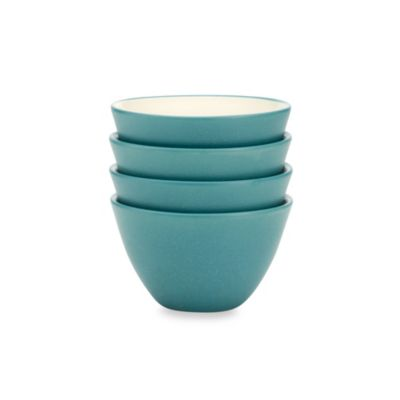 Noritake® Colorwave Turquoise 4-Inch Mini Bowls (Set of 4)