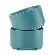 Noritake® Colorwave Stacking Bowls in Turquoise (Set of 2)