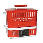 CuiZen Hot Dog Steamer with Bun Warmer