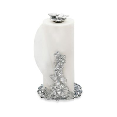 Arthur Court Butterfly Paper Towel Holder