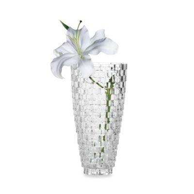 Mikasa® Palazzo Crystal Glass 12-Inch Vase