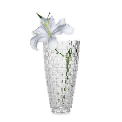 Mikasa Palazzo Crystal Glass 9-Inch Vase