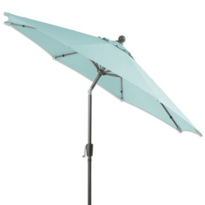 9-Foot Round Aluminum Umbrella in Mist