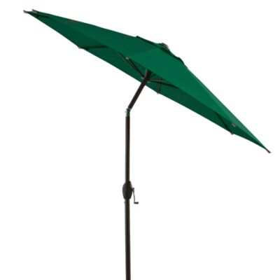 7-Foot Round Bistro Aluminum Umbrella in Green