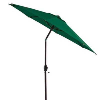 7-Foot Round Bistro Aluminum Umbrella in Green