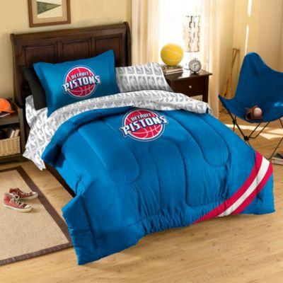 NBA Detroit Pistons Full Complete Comforter Set