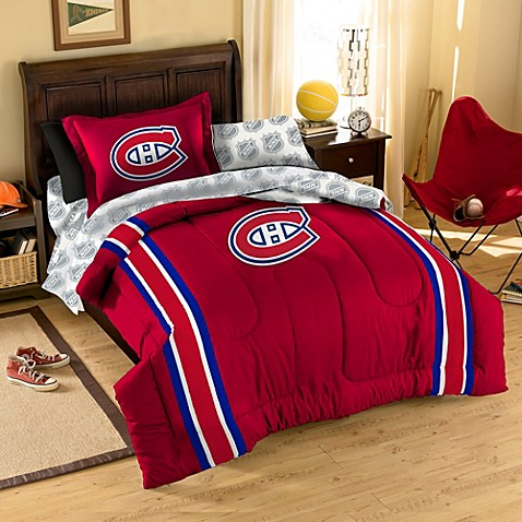 Buy Nhl Montreal Canadiens Twin Complete Comforter Set