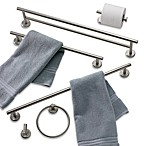 Latitude II Satin Nickel 24-Inch Towel Bar