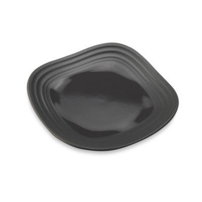 Mikasa® Swirl 6-Inch Square Appetizer Plate in Graphite
