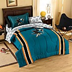 NHL San Jose Sharks Complete Comforter Set