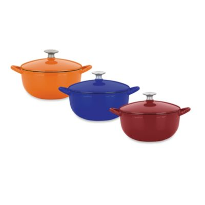 Mario Batali by Dansk™ Classic 3-Quart Soup Pot in Chianti