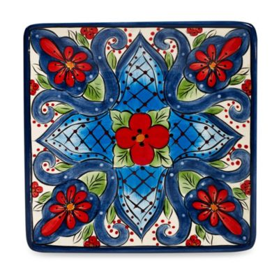 Tabletops Unlimited® Lucca 8-Inch Square Salad Plate