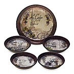 Certified International Bistro Individual Pasta Dinnerware Collection