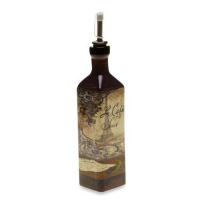 Certified International Bistro 9-Inch Oil Bottle
