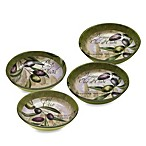 Certified International Toscana 4-Piece Bowl Set