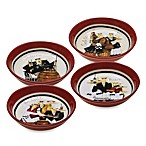 Certified International Buon Appetito 9-Inch Individual Bowls (Set of 4)
