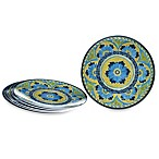 Certified International Melamine Round 9-Inch Salad/Dessert Plates (Set of 6)