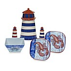 Certified International Crab and Lobster Melamine Dinnerware