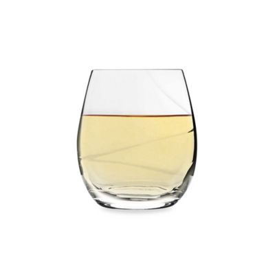 Luigi Bormioli Aero 13.5-Ounce Stemless Wine Glass (Set of 6)